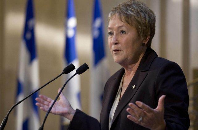La première ministre du Québec, Pauline Marois, lors... (Photo: Jacques Boissinot, PC)