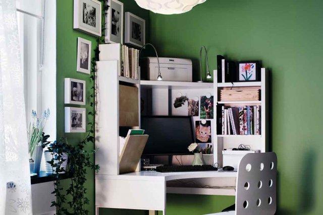 Le bureau la maison une place au soleil bien m rit e mich le laferri re - Amenagement d un bureau a la maison ...