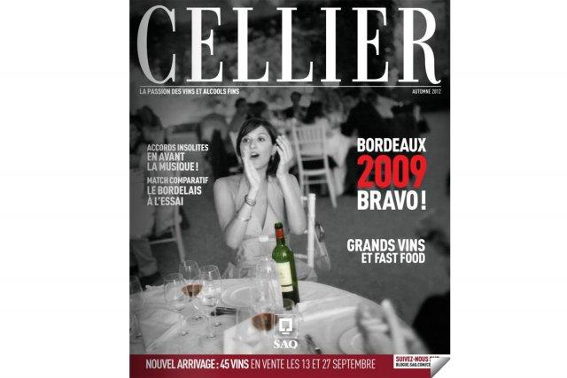 Le magazine Cellier de la SAQ...