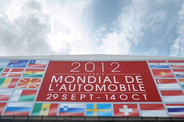 Le Mondial de l'auto, qui s'ouvre samedi à... (Photo AFP)