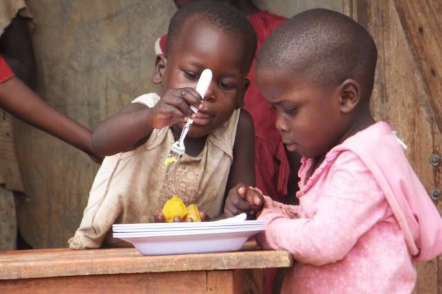 Près de 500 millions d'enfants dans le monde... (Photo fournie par Harvest Plus)