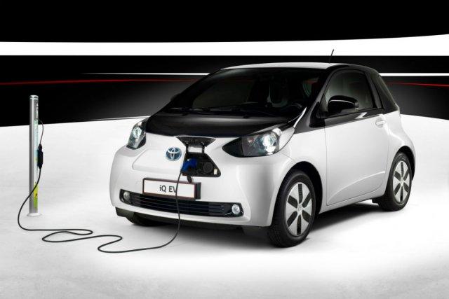 La Scion iQ électrique.... (Photo fournie par Toyota)