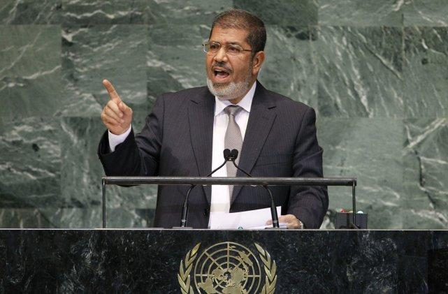 Le président de l'Égypte, Mohammed Morsi.... (Photo: AP)