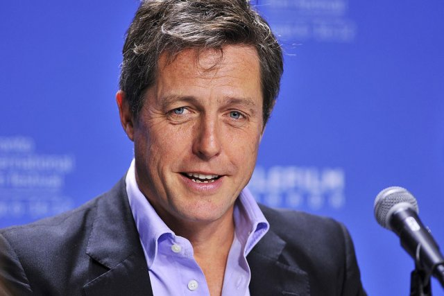 Hugh Grant... (Photo: La Presse Canadienne)