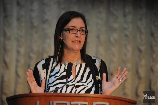 Nadia Ghazzali, rectrice de l'Université du Québec à... (Photo: Sylvain Mayer)