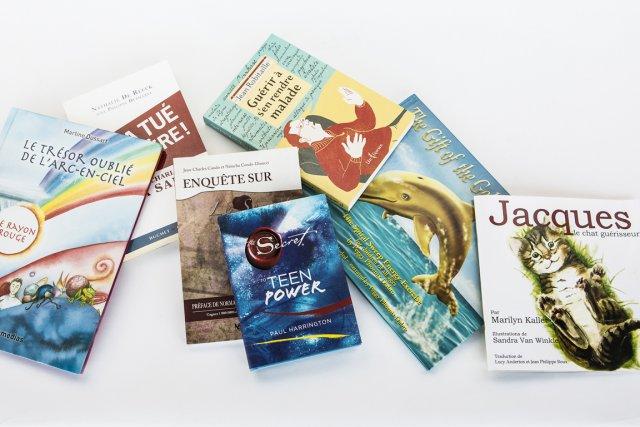 Des livres pour toutes les croyances.... (Photo Martin Chamberland, La Presse)