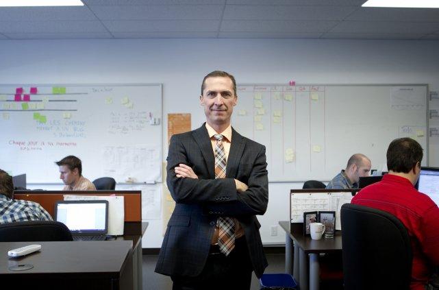 Daniel Handfield, président et directeur général de MédiaMed... (Photo Marco Campanozzi, La Presse)