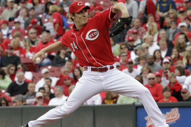 Homer Bailey... (Photo Al Behrman, Associated Press)