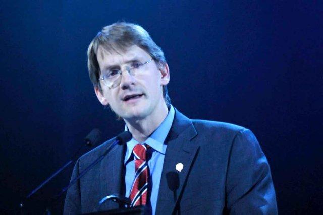 Le ministre des Affaires municipales, Sylvain Gaudreault, s'est... (Le Soleil, Steve Deschênes)