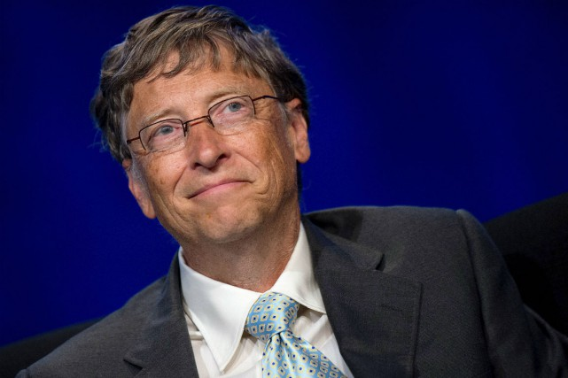 Bill Gates... (Photo Jim Watson, Agence France-Presse)