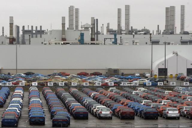 L'usine Chrysler de Brampton, en Ontario.... (Photo: PC)
