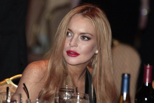 Lindsay Lohan... (Photo: Reuters)