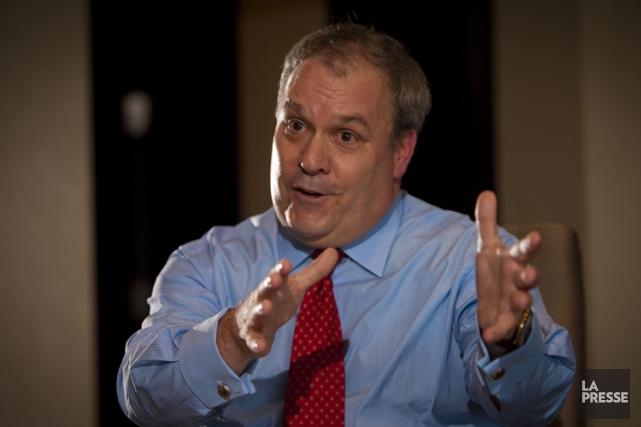 Selon ClaudeMongeau, président-directeur général du Canadien National, il... (Photo André Pichette, archives La Presse)
