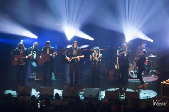 Arcade Fire... (Photo: André Pichette, La Presse)