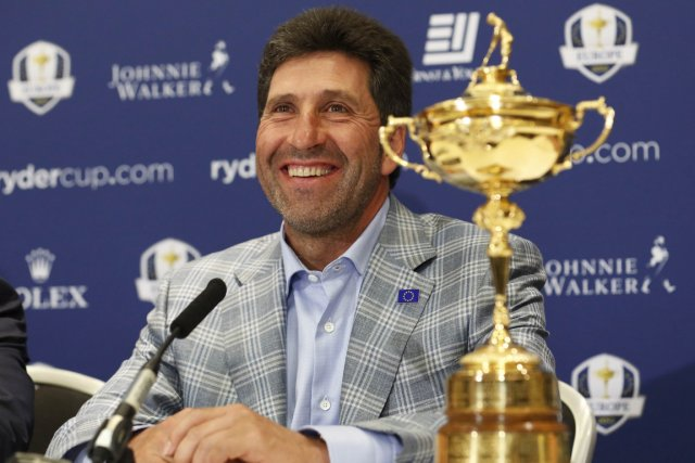 José Maria Olazabal... (Photo: AFP)