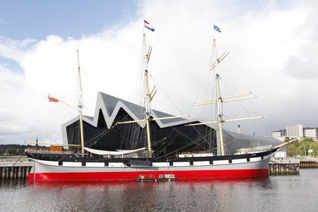 Le Riverside Museum de Glasgow.... (Photo: Andrée Lebel, La Presse)