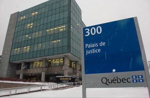Le palais de justice de Québec... (Photothèque Le Soleil, Jean-Marie Villeneuve)