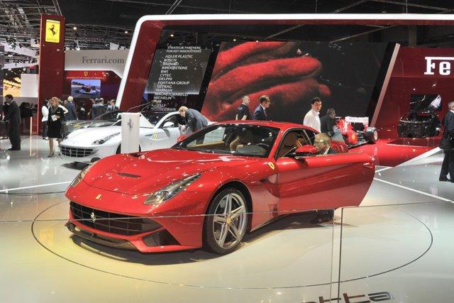 Ferrari propose de découvrir à Paris sa F12 berlinetta, dévoilée à   Genève en... (Photo fournie par Ferrari)