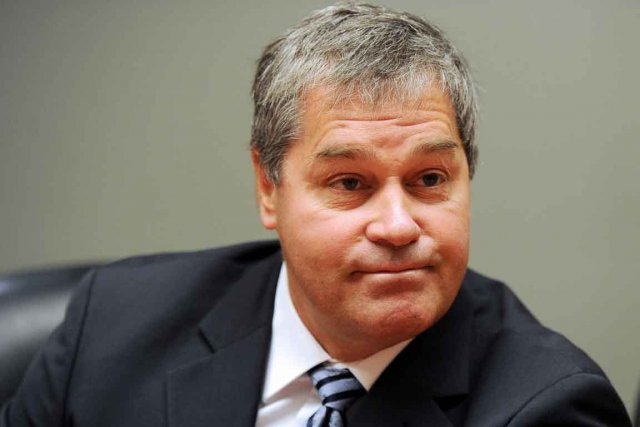 L'ex-ministre de la Santé Yves Bolduc....