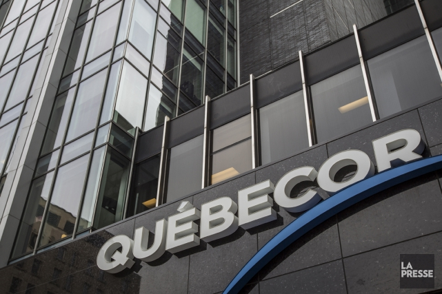 Québecor (t.qbr.b) espère que l'arrivée des séries... (Photo Olivier Pontbriand, La Presse)