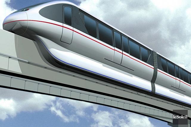 Un monorail pourrait-il être la solution pour relier... (Photothèque Le Soleil)