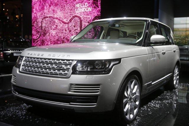Land Rover promet que le Range Rover, son... (Photo: Reuters)