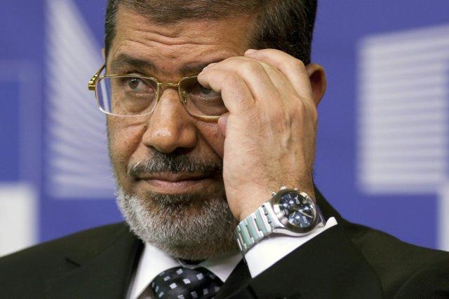 Le président Morsi a assuré qu'il était «attaché... (PHOTO VIRGINIA MAYO, AP)