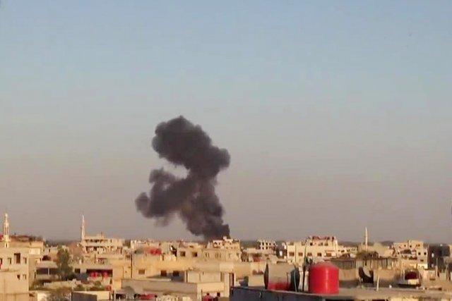 Un hélicoptère de l'armée a été abattu par... (IMAGE YOUTUBE)