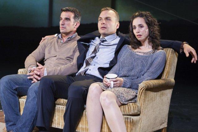 Les acteurs Dany Michaud, Patrice Dubois et Sylvie... (Photo: Jérémie Battaglia, fournie par Espace GO)