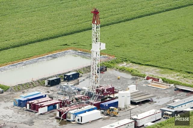 Une industrie du gaz de schiste contribuerait à... (PHOTO FRANÇOIS ROY, ARCHIVES LA PRESSE)