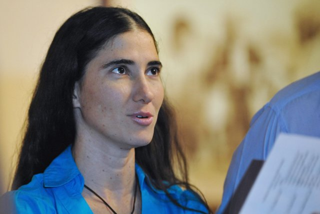 La blogueuse dissidente cubaineYoani Sanchez.... (PHOTO ADALBERTO ROQUE, ARCHIVES AFP)