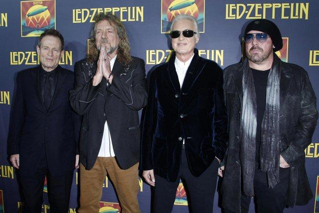 John Paul Jones, Robert Plant, Jimmy Page et... (Photo: archives Reuters)