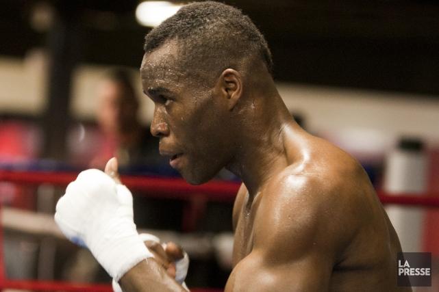 Adonis Stevenson est l'aspirant obligatoire à la ceinture... (Photo Ninon Pednault, La Presse)