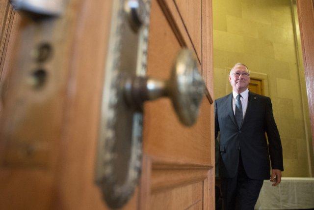 Gérald Tremblay a-t-il encore l'autorité morale pour rester... (Photo: Ivanoh Demers, La Presse)