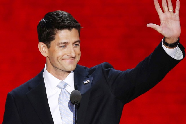 Le colistier de Mitt Romney Paul Ryan (notre... (PHOTO REUTERS)