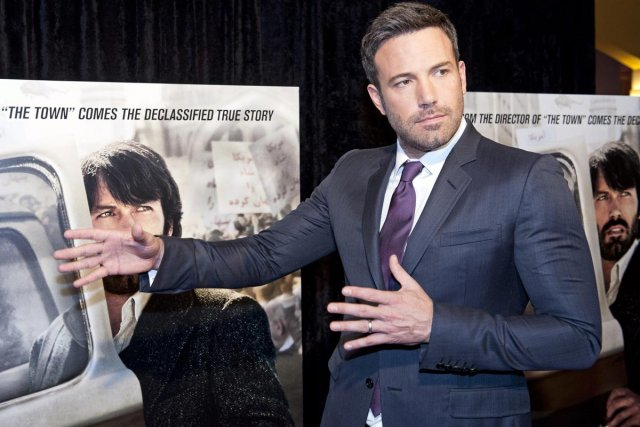 Ben Affleck à la première d'Argo à Washington.... (Photo: AP)