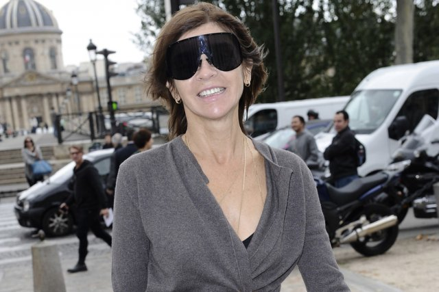 Carine Roitfeld... (Photo: AP)
