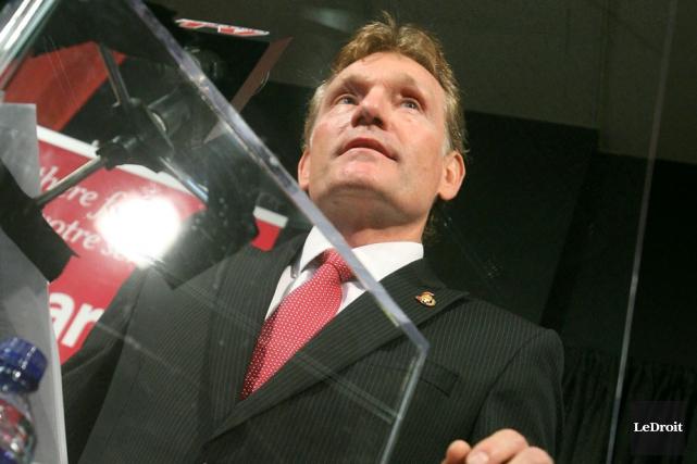 Cyril Leeder, président des Sénateurs d'Ottawa,prend au sérieux... (Patrick Woodbury, archives LeDroit)