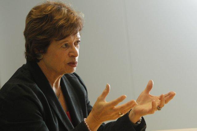 La ministre de l'Éducation Marie Malavoy... (Photo Martin Chamberland, La Presse)