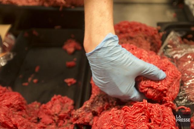 Le récent rappel de milliers de kilogrammes de viande produite par XL Foods et... (PHOTO IVANOH DEMERS, ARCHIVES LA PRESSE)