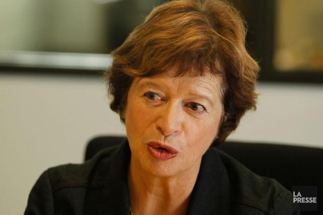 La ministre de l'Éducation, Marie Malavoy... (Photothèque La Presse)