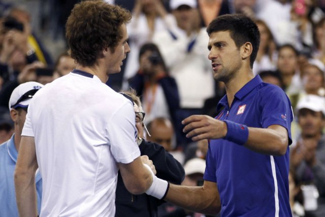 Andy Murray et Novak Djokovic avaient aussi croisé... (Photo Adam Hunger, Reuters)