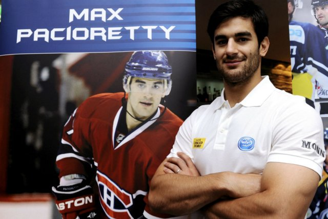 L'aventure de Max Pacioretty en Suisse n'aura duré... (Photo Associated Press)