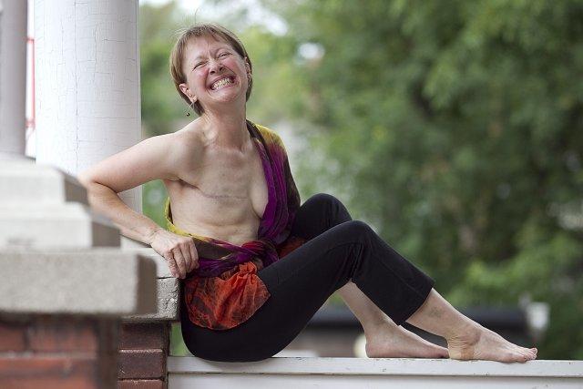 Hilary Jenkins, 50 ans. «Je suis entière, même... (Photo: Phil Carpenter)