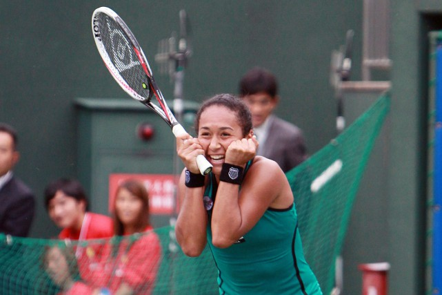 Heather Watson... (Photo : AFP)