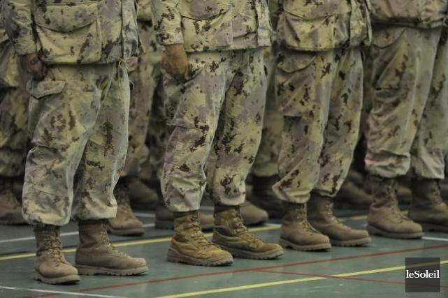 Un haut gradé des Forces armées canadiennes a été accusé d'infractions... (Photothèque Le Soleil, Patrice Laroche)