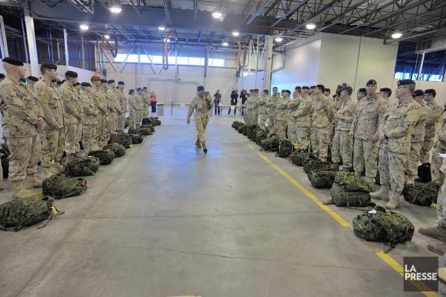 Le scénario pourrait avoir des conséquences dramatiques.... (Photo du Sgt Jean-Francois Néron, fournie par l'armée canadienne)