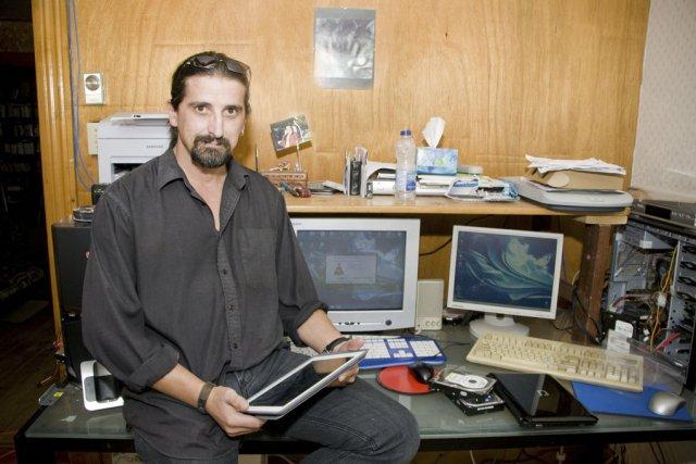 Selon Christian Gilbert, propriétaire de Services informatiques Upton,... (photo Stéphanie Mantha)