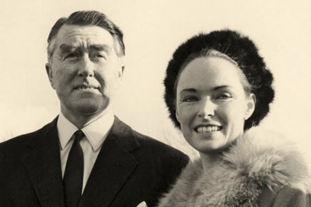 Paddy Roy Bates (prince Roy) et son épouse... (Photo : archives Evening Standard)
