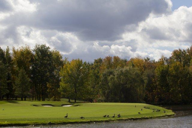 Le 7e trou à Laval-sur-le-Lac est maintenant une... (Photo: Olivier Jean, collaboration spéciale)
